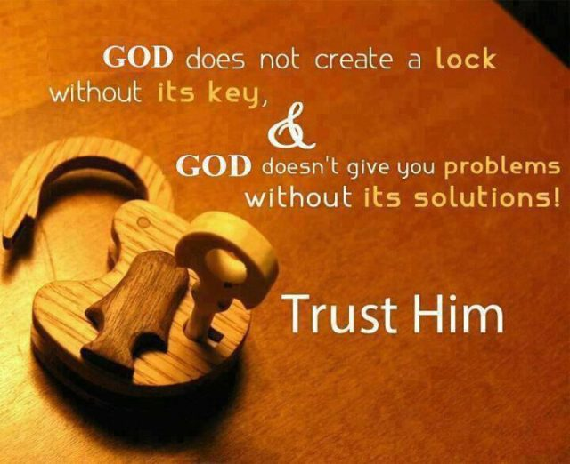 good morning quotes – trust in GOD