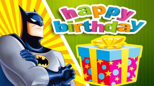 happy birthday pictures for kids – Batman