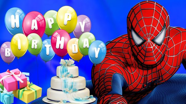 happy birthday pictures for kids – spiderman