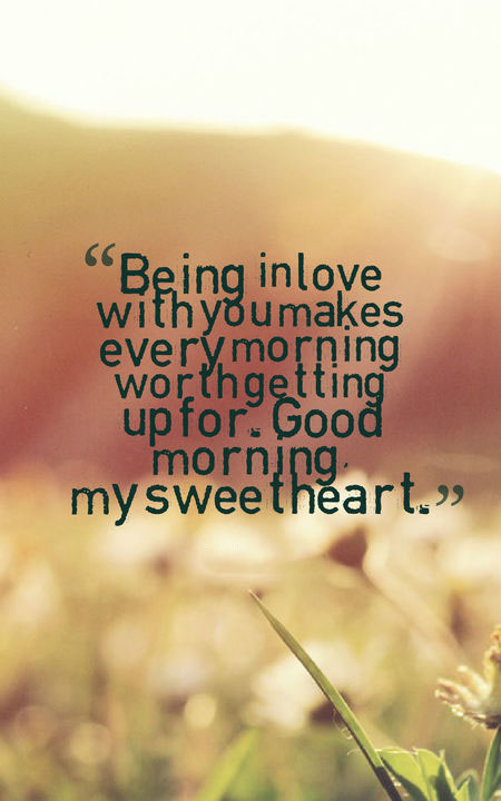 romantic good morning quotes for her