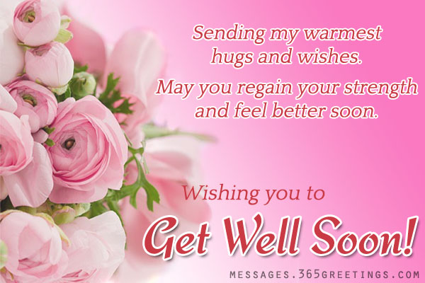 warm get well soon messages